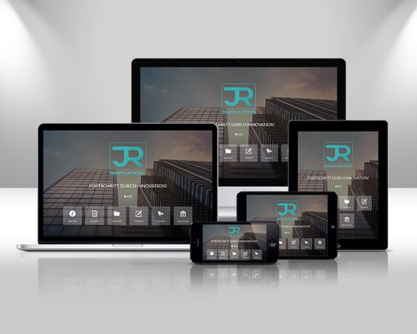 Responsive Web Design JR Innovations